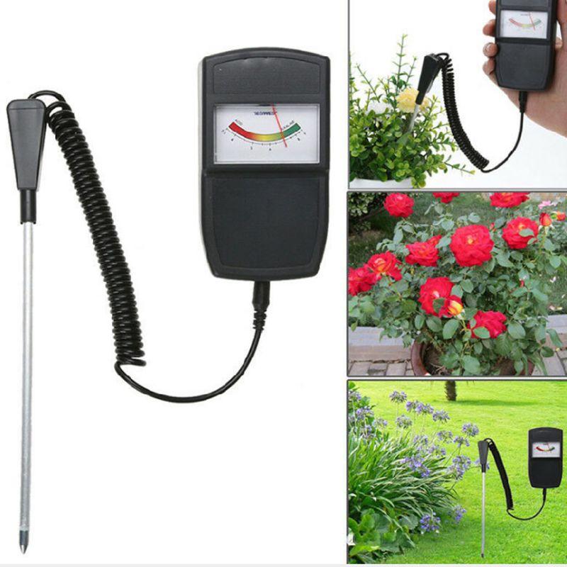 Soil PH Detector Pointer Type Tester Sensor Probe Acidity Test Tool for Farmer X4YD
