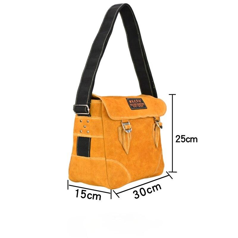 حقيبة أدوات تخزين جلدية متعددة الوظائف حقيبة ظهر للنجار حقيبة أدوات مهنية Bolsa Ferramentas أجهزة هندسية BS50GJ