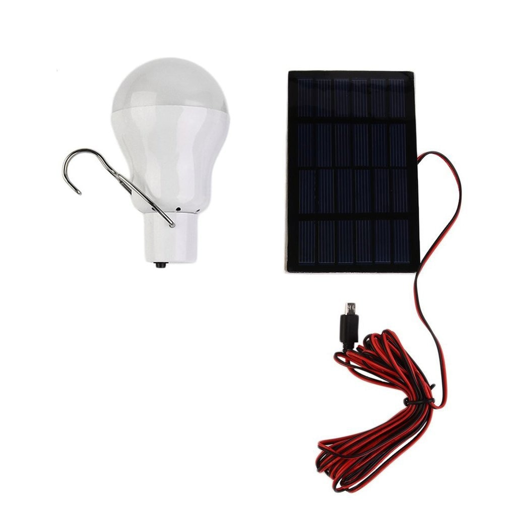 20W 150LM Portable Solar Power LED Bulb Solar Powered Light Charged Solar Energy Lamp Outdoor Lighting Camp Tent Hot Sale new portable solar panels charging generator power system home outdoor lighting for led bulb