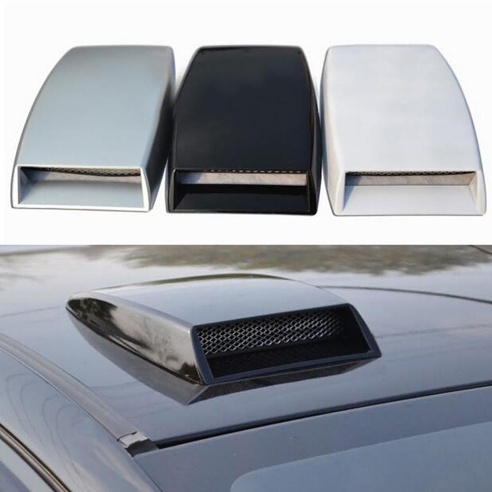 AliExpress - Universal Car Bonnet Hood Scoop Air Flow Intake Vent Cover Decorative Cars Decorative Air Flow Intake Hood