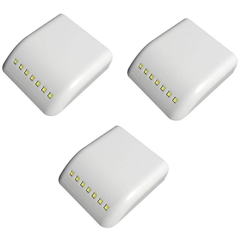 Nuevo Gabinete de luz Universal 7 LED interior Sensor de luz LED para cocina dormitorio armario 3 uds