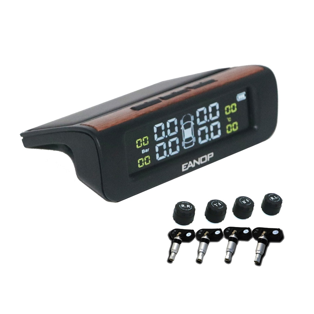 EANOP F01, sistema de supervisión de presión de neumáticos TPMS para coche, Sensor de presión de neumáticos, sensores externos internos de seguridad para coche y camión