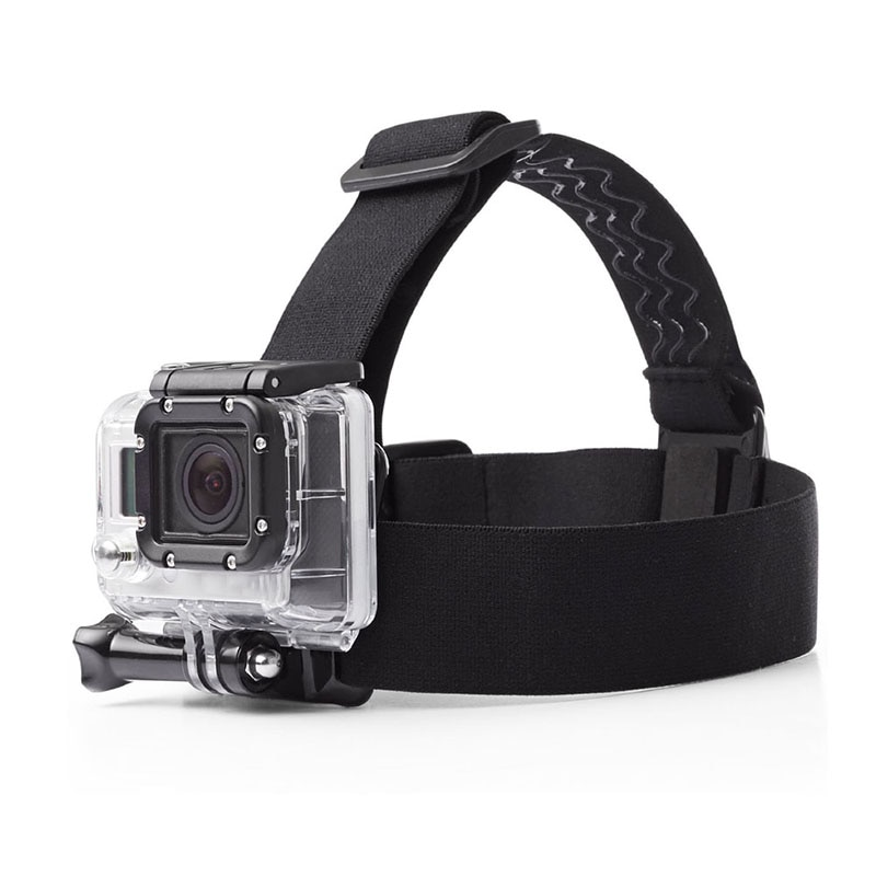 1pcs For Go Pro Mount Belt Adjustable Head Strap Band Session For Gopro Hero 7 8 9 Sports Action Video Camera Accessories