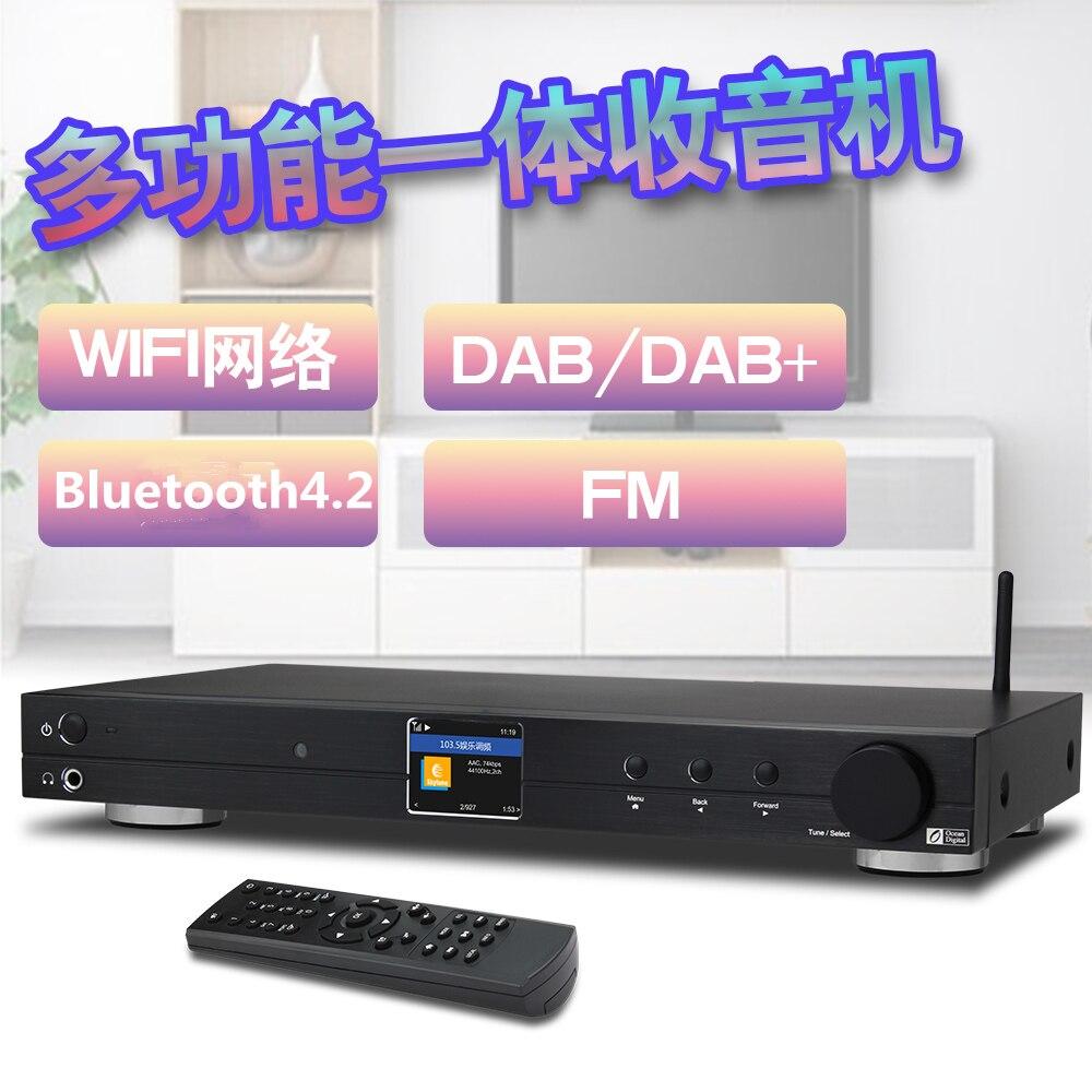 WiFi/FM/DAB +/DLNA/UPnP océano Digital WR10 Internet BT Ethernet Radio RJ45 6,35mm LÍNEA DE 1U chasis 430mm con Bluetooth42