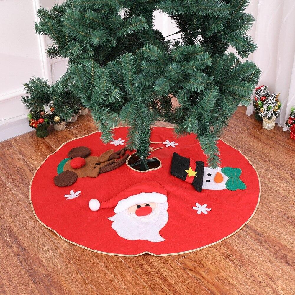 100cm árbol De Navidad Falda Mat Para Arbol De Navidad Falda De...