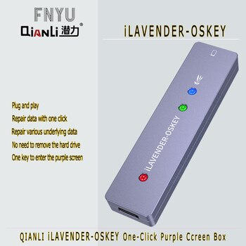 iLAVENDER-OSKEY One-click into the DFU Mode One Button Purple Screen Read Write Serial hard disk for iPhone SE 6 to X & iPad