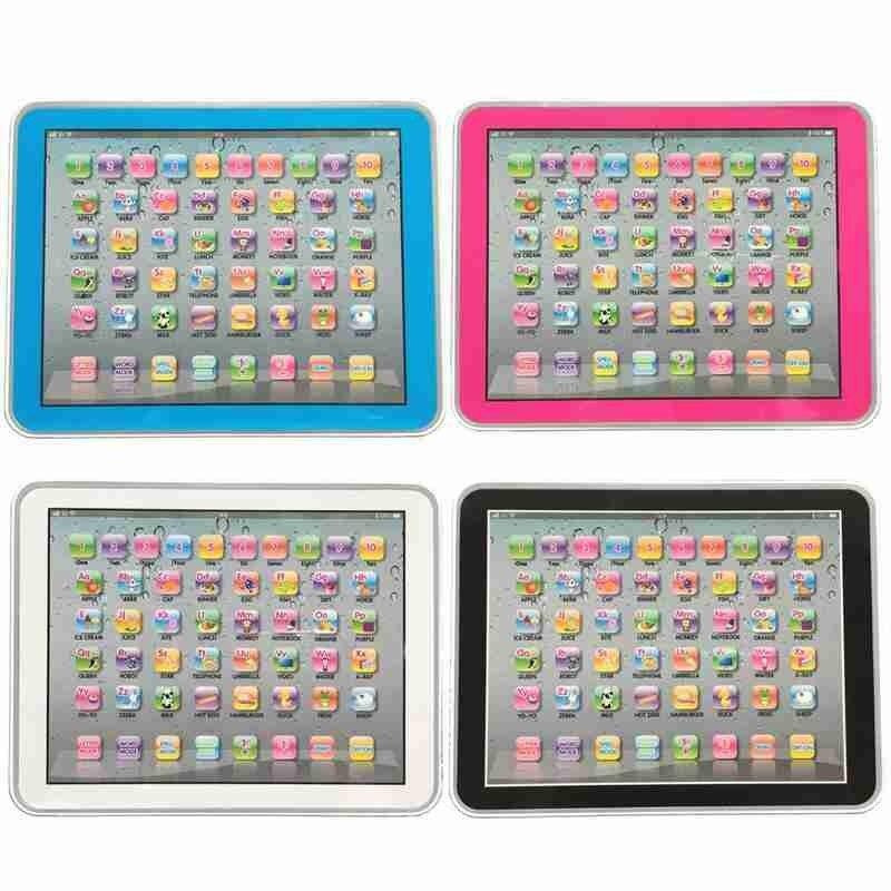 Niños Tablet juguetes para máquinas de aprendizaje de matemáticas inglés Tablet niños Montessori educación temprana juguetes regalos