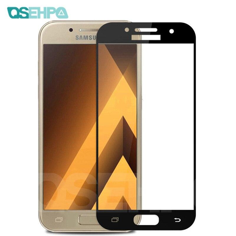 9D защитный Стекло на samsung Galaxy S7 A3 A5 A7 2017 J3 J5 J7 2016 2017 закаленное Экран протектор Стекло Пленка чехол