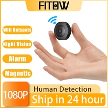 Taida 1080P HD Wireless WiFi Mini Camcorder Surveillance Camera Small Home Security IP Camera Baby M