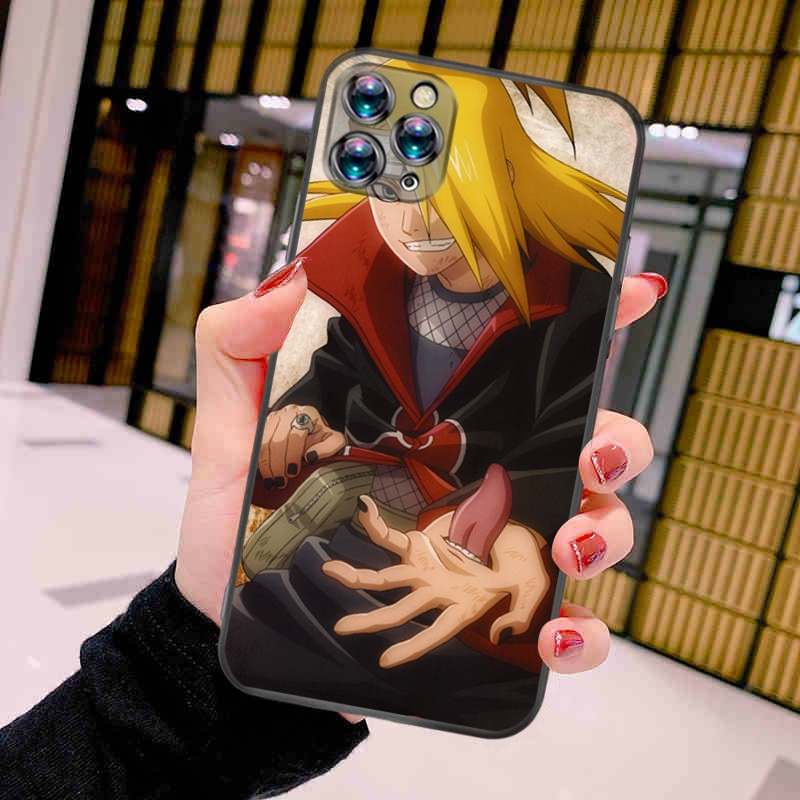 Kakashi SasukeLY's NarutoLY's Phone Case For iPhone X XS XR MAX Cheap Cellphone Mobilephone Black TPU Cool Lifeproof