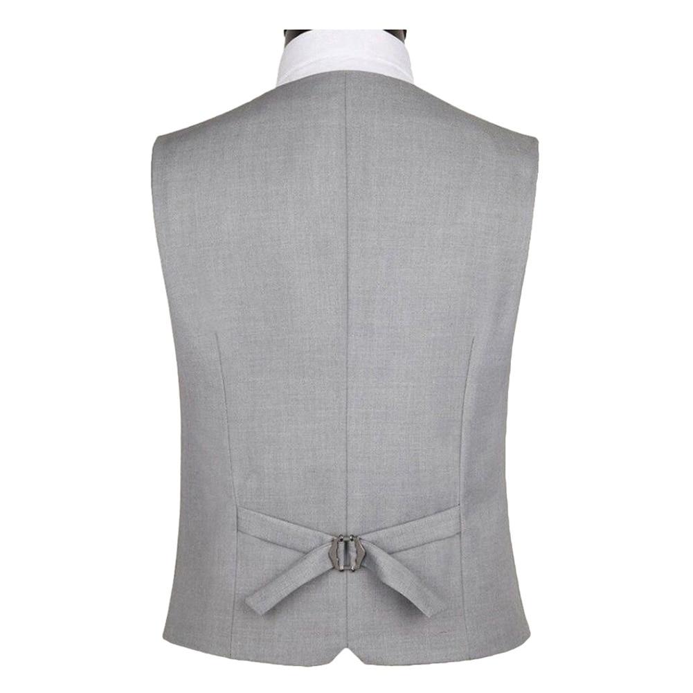 2020 summer Men Solid Color Sleeveless Back Straps Single-breasted Slim Business Waistcoat men clothing
