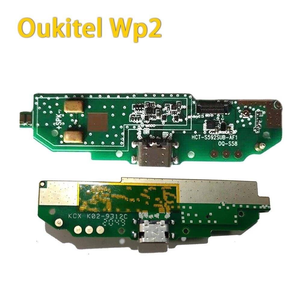 يو اس بي أصلي قابس شحن USB فتحة شاحن ميناء موصل مجلس أجزاء مايكرو اكسسوارات للهاتف OUKITEL WP2 ، تستخدم