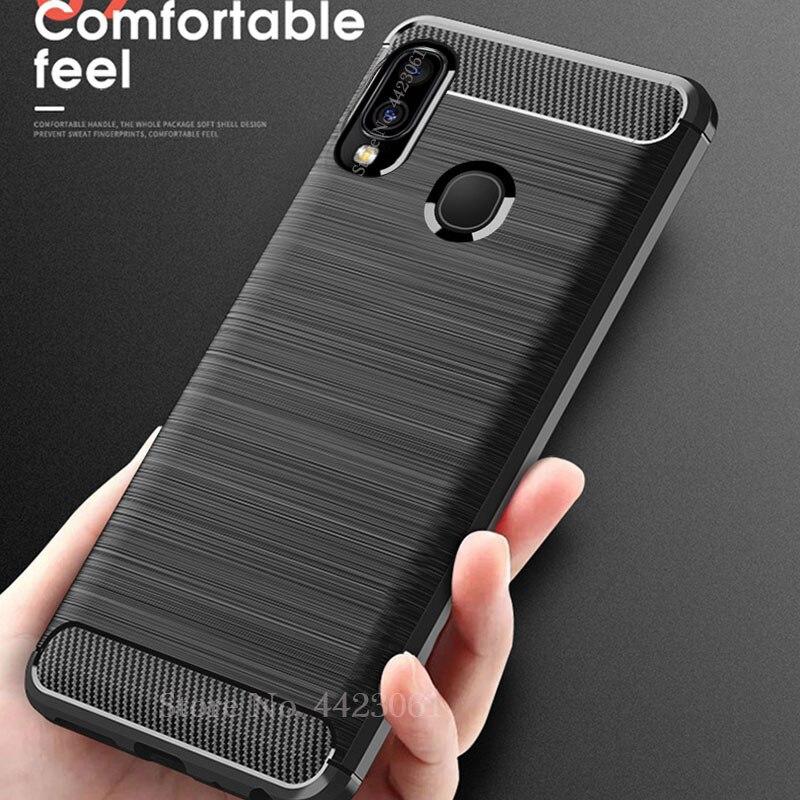 Чехол для Samsung Galaxy A30 A20S A20E A70 A50 A40 A20 A10, силиконовый чехол, мягкий ТПУ чехол из углеродного волокна для S20 Plus S10E