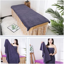 Microfiber towelBeauty Salon Bath Towel and Face Towel Massage Quick-Dry Special Large Towel Thick M
