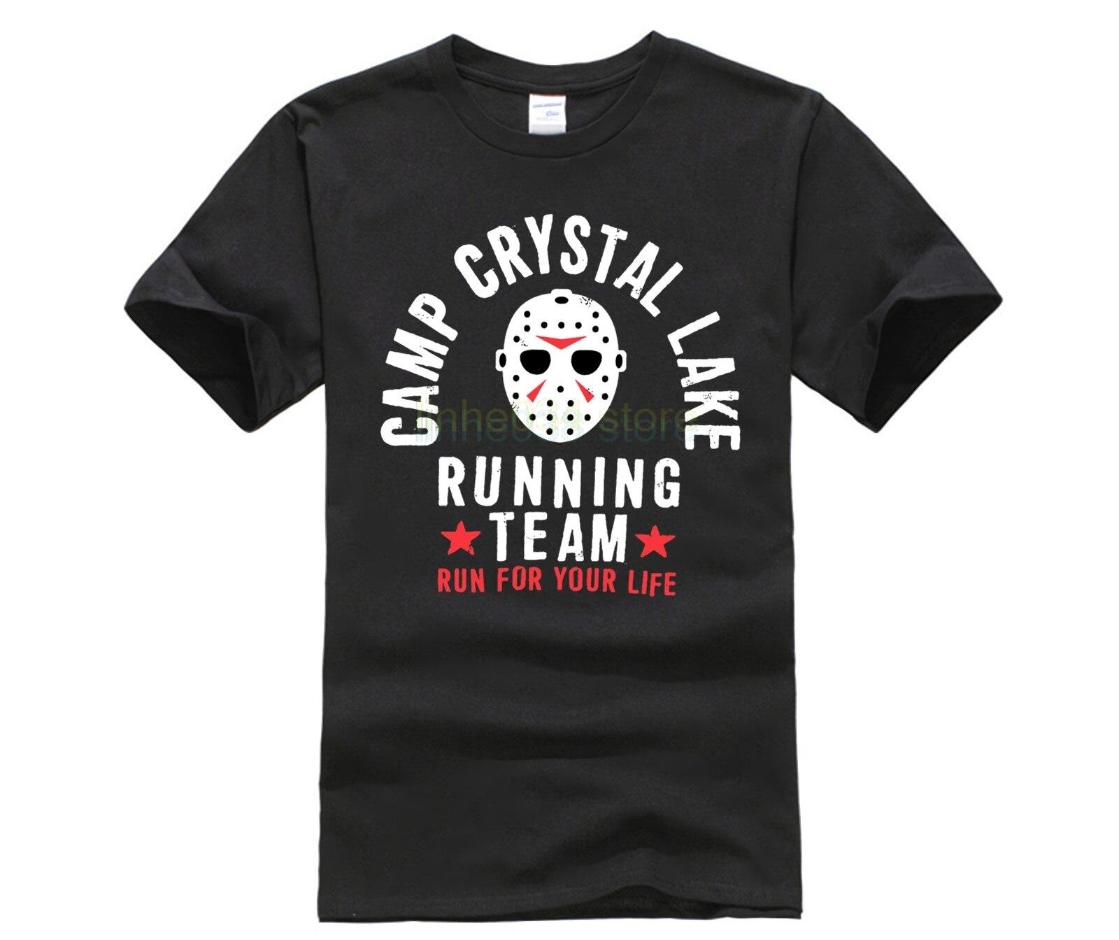 Respirables de los hombres del verano ropa campamento lago cristal corriendo equipo camiseta