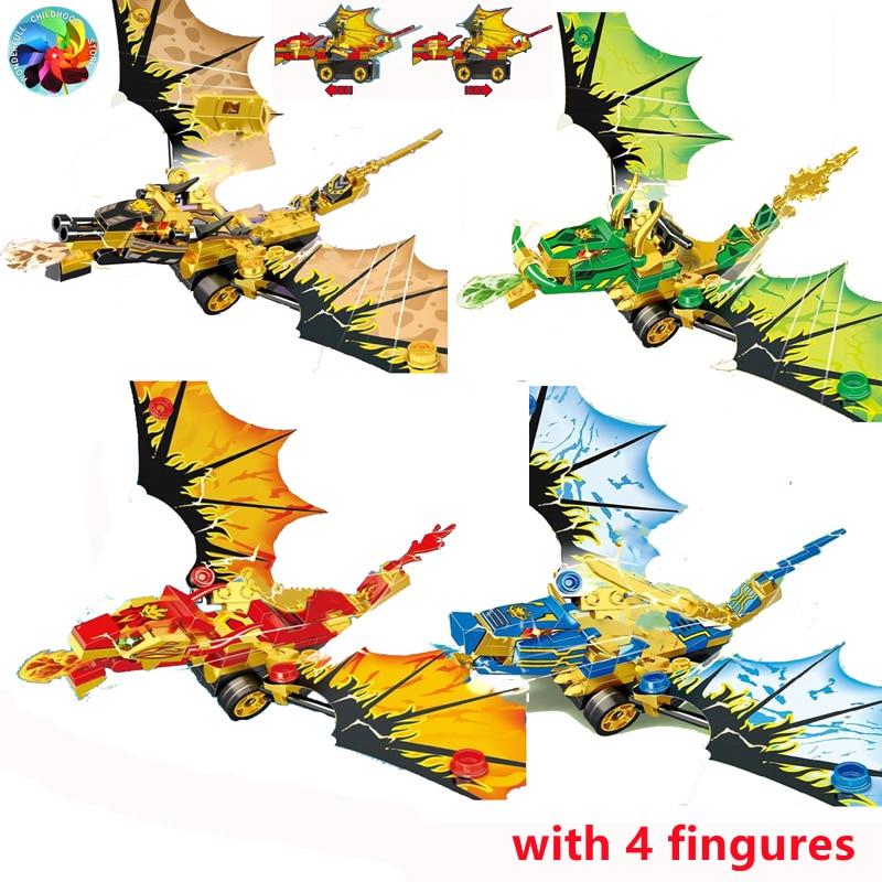 Модель мотоцикла ниндзя, фигурки-конструкторы, детские игрушки, подарок для детей и мальчиков