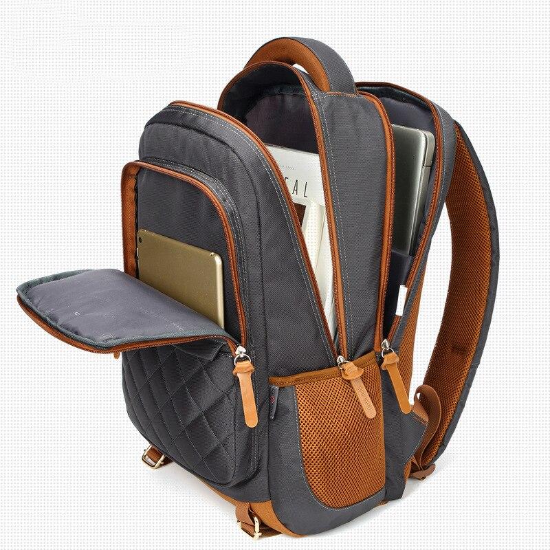 backpacks school bag for boys teenager Oxford Large capacity solid  teen schoolbag student College bagpack men bookbags big