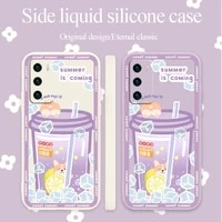 sparkling water with ice case for huawei p40 p50 p30 p20 pro lite mate 40 30 20 pro lite nova 5t y7a soft phone cover case