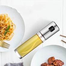 Huile dolive pulvérisateur cuisine huile vaporisateur bouteille pompe verre huile Pot étanche sauce bateau Grill barbecue pulvérisateur pompe à huile pulvérisation cuisine outils
