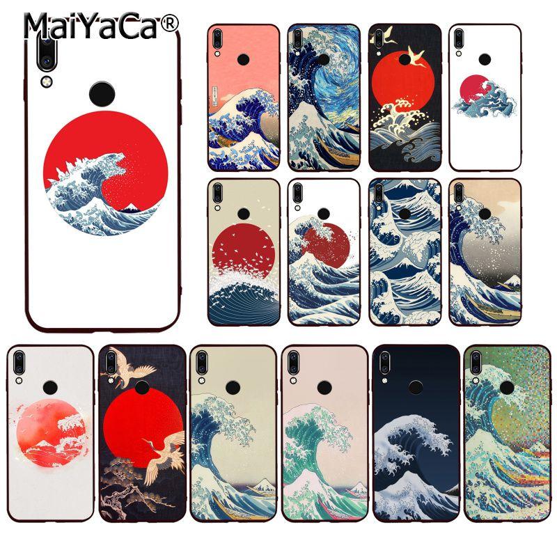 MaiYaCa Hokusai la gran ola de funda del teléfono para Huawei P20 P30 P20Pro P20Lite P30Lite P Smart P10Lite