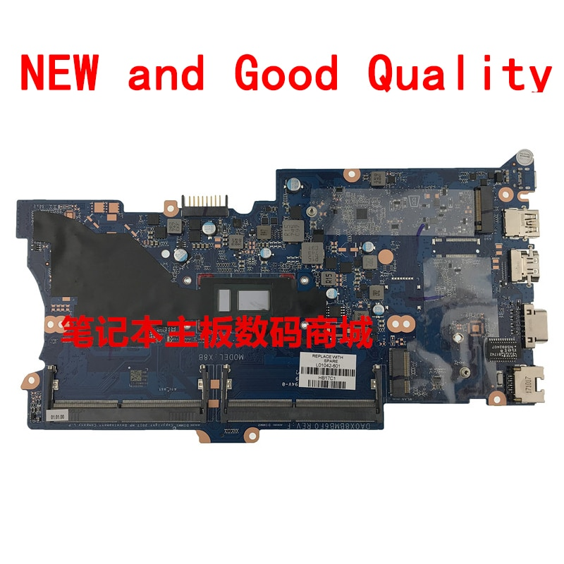 Suitable for HP 430 G5 HP440 G5 notebook motherboard L01042-601 DA0X8BMB6F0 New and Good quality