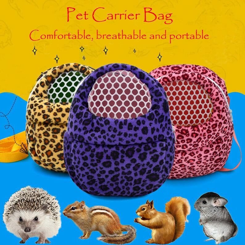 Bolsa de viaje de gran oferta para mascotas, de gran calidad, con bolsillo para hámster, gato, erizo, conejo y hurón