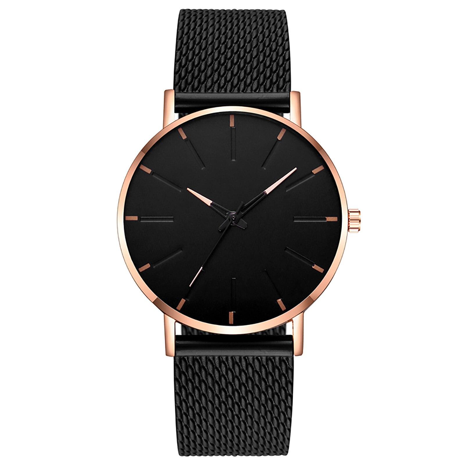 Minimalist Women Fashion Ultra Thin Watches Simple Ladies Business Stainless Steel Mesh Belt Quartz Watch часы женские наручные умные часы huawei watch steel mesh mesh серебряная сталь 42mm