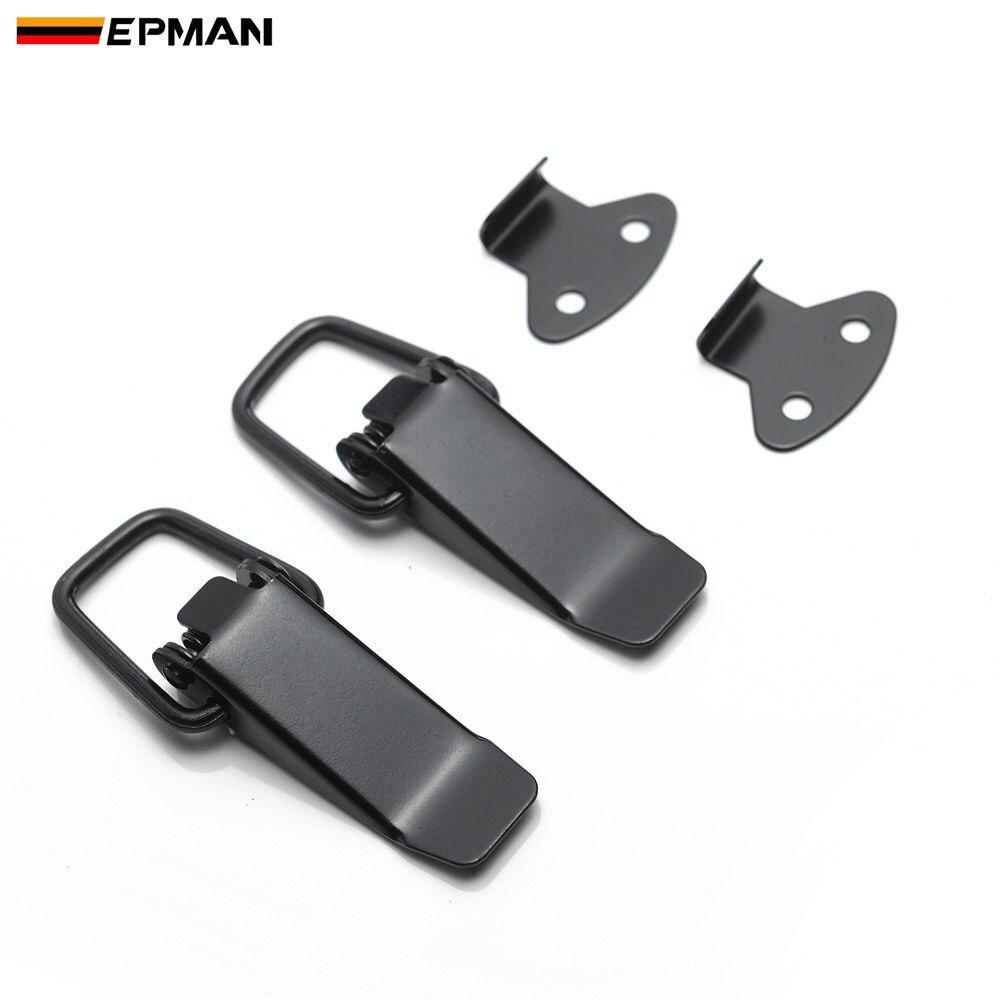Epman carro pequeno boot capô lado amortecedor bloqueio de alavanca prendedor captura clipe liberação rápida universal clipe epdq078s