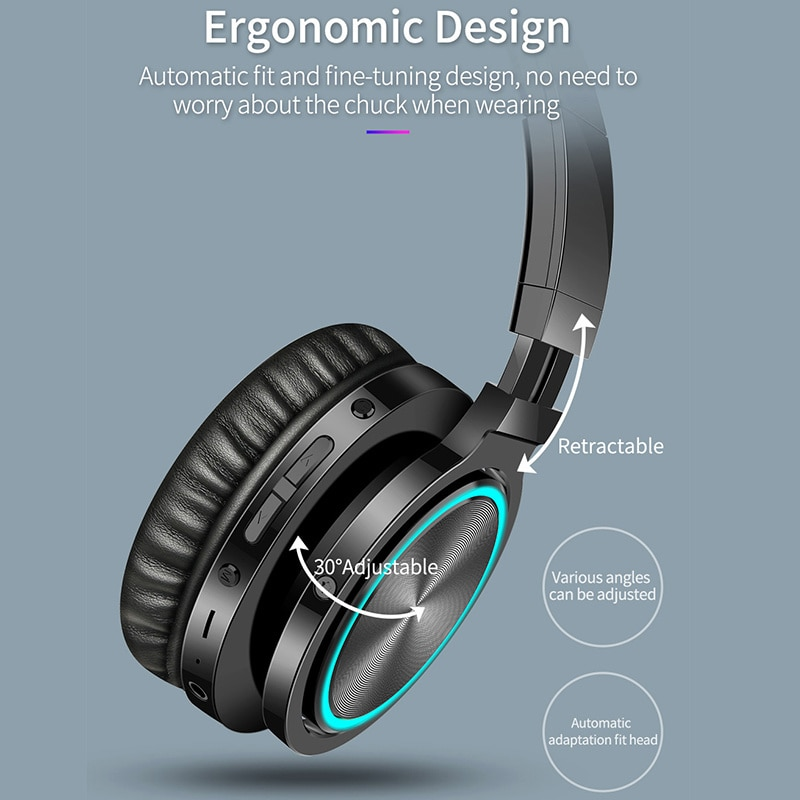 Eison wireless video game headset, powerful Bluetooth compatible helmet, noise cancellation and low latency enlarge