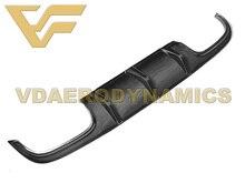 مناسبة ل 05-10 بنز R171 SLK200 SLK250 SLK300 SLK350 VAD-G ألياف الكربون شفة موزع خلفي الناشر الوفير الجسم