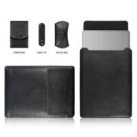 Pu Leder Laptop Tasche Sleeve Fall Fur Macbook Air Pro Retina 11 6 12 13 13 3 15 15 4 Notebook Fall Fur dell HP ASUS Lenovo Ehre