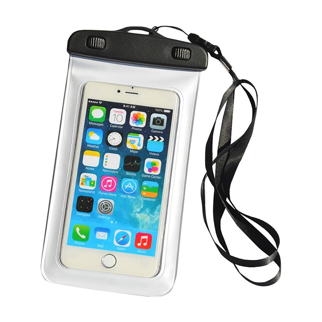Funda impermeable de 30m para móvil, funda transparente para iPhone, Xiaomi, playa,...