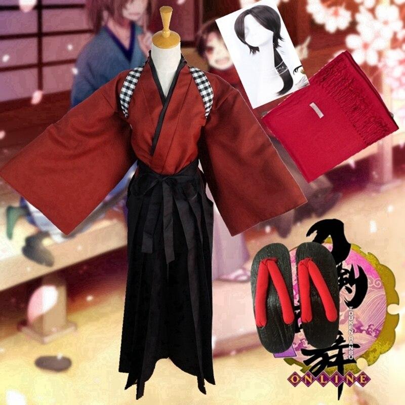 East bluecloth online kashuu kiyomitsu, disfraz de Halloween, disfraz de yamatonokami yasuso, kimono uniforme, traje de exhibición