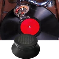 vinyl record player balanced metal disc stabilizer weight hif aluminum weight turntable clamp clamp f0j5