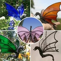 dragon hanging stained sun catcher colored window hanging ornament home inddor outdoor decoration