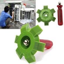 Pente reparador de ar condicionado, condensador e resfriador de óleo para limpeza automotiva, acessórios para casa