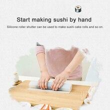 Tapis de rouleau de Sushi de Silicone tapis de moule de rouleau de Sushi réutilisable bricolage