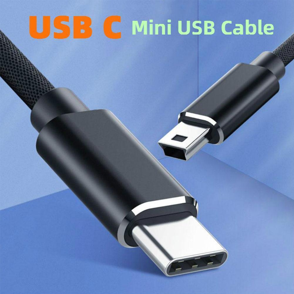 Cable de carga rápida USB tipo C para móvil, Cable de transferencia...