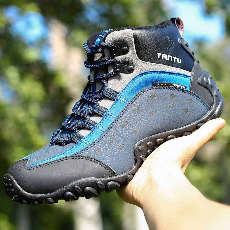 New Men Hiking Upstream Shoes Boots Trekking Tourism Boots Camping Shoes Outdoor Mountain Climbing Sports Sneakers For Men