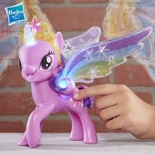 Mon petit poney jouets Figure illuminée crépuscule étincelle poupées filles cadeaux mon petit poney amitié est magique Action figurine modèle
