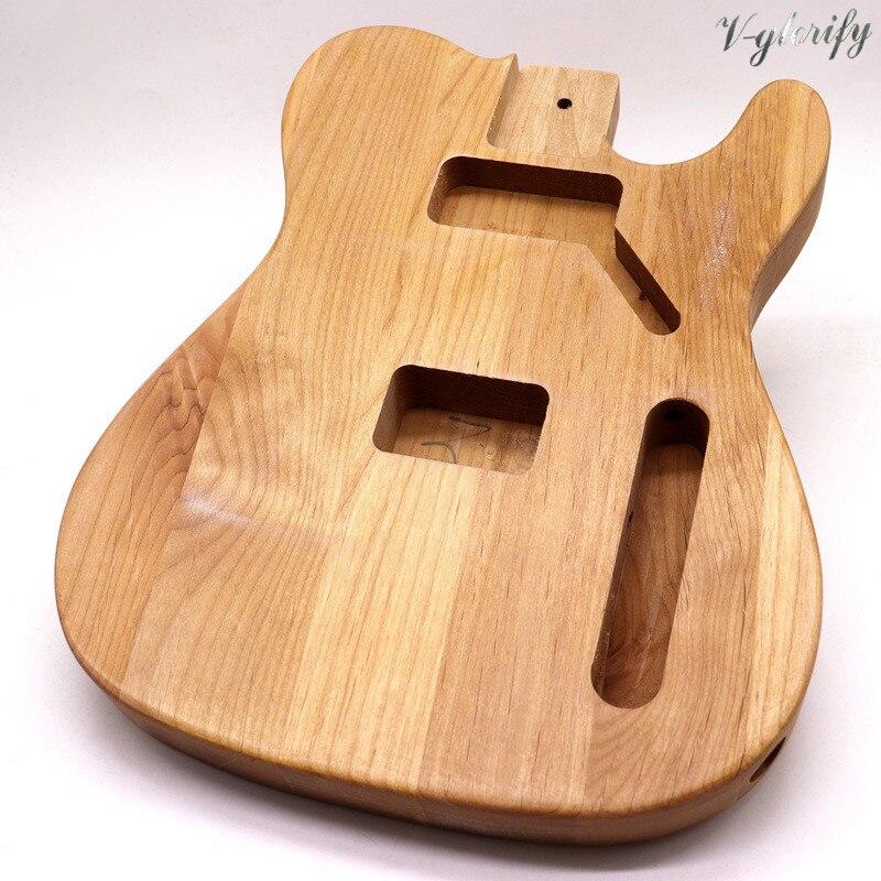 TL electric guitar body  basswood unfinished handcraft guitar barrel guitar DIY accessory