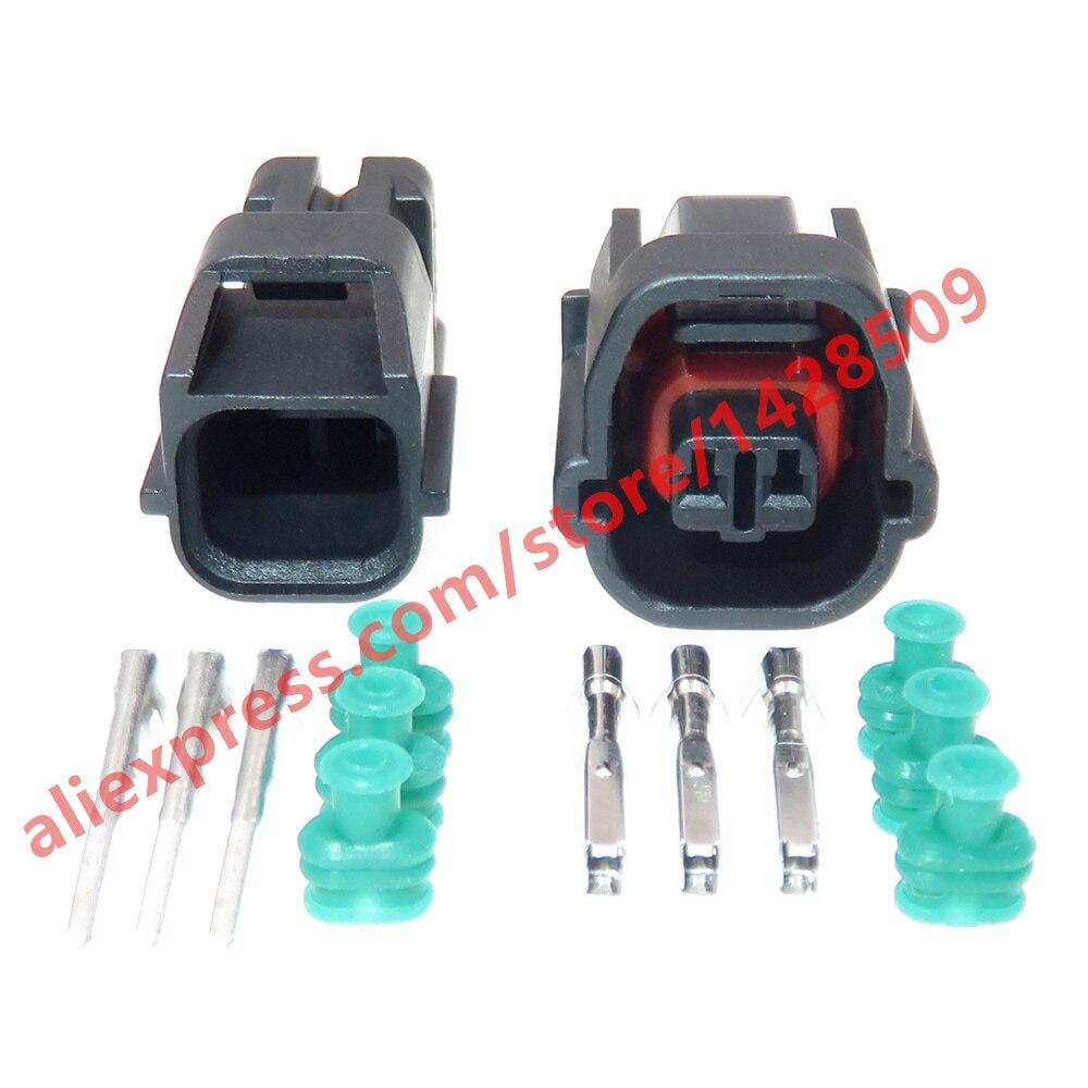5 Sets 2 Pin 1.2 Series Waterproof Connector 7283-8720-30 7182-8720-30 Automotive Reversing Radar Sensor Plug For Suzuki