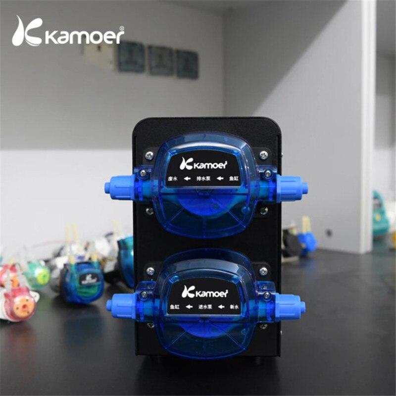 كاموير X2SR واي فاي مضخة تغيير المياه التلقائي مع اثنين من مضخات تمعجية السائر لحوض السمك (التحكم في الهاتف وعمر طويل)