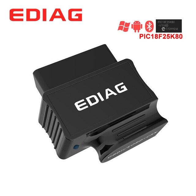 EDIAG P03 ELM327 Bluetooth WIFI V1.5 PIC18f25k80 чип диагностический сканер elm 327 V1.5 для OBDII OBD2 транспортного средства android IOS Torque