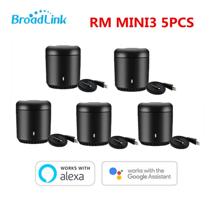 Broadlink RM Mini3 WiFi IR 4G s Control remoto para domótica inteligente por APP para teléfono Apple xiaomi con Google Alexa