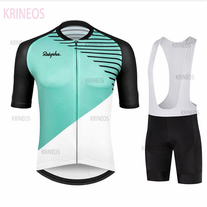Sudadera de ciclismo 2020, traje transpirable, sudadera de Ciclismo de equipo profesional de carreras ralpha, ropa deportiva corta de ciclismo para hombre