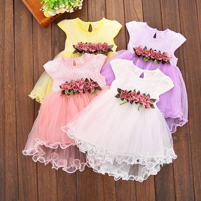 Vestido de verano para niña, vestidos de princesa para niñas, moda 2020, 1er cumpleaños, vestido infantil, ropa para niño niña, vestidos para recién nacidos