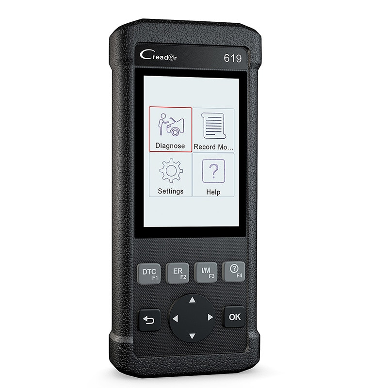 Launch CR619 OBD2 Scanner Car Engine ABS SRS ODB Auto Scan Tool OBDII Automotive Code Reader Multi-language Car Diagnostic Tools