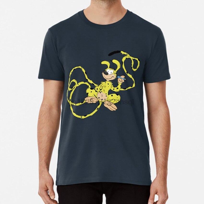 Marsupilami ! T shirt marsupial animal animales selva tropic yellow amarillo toon cartoon french art comic comics