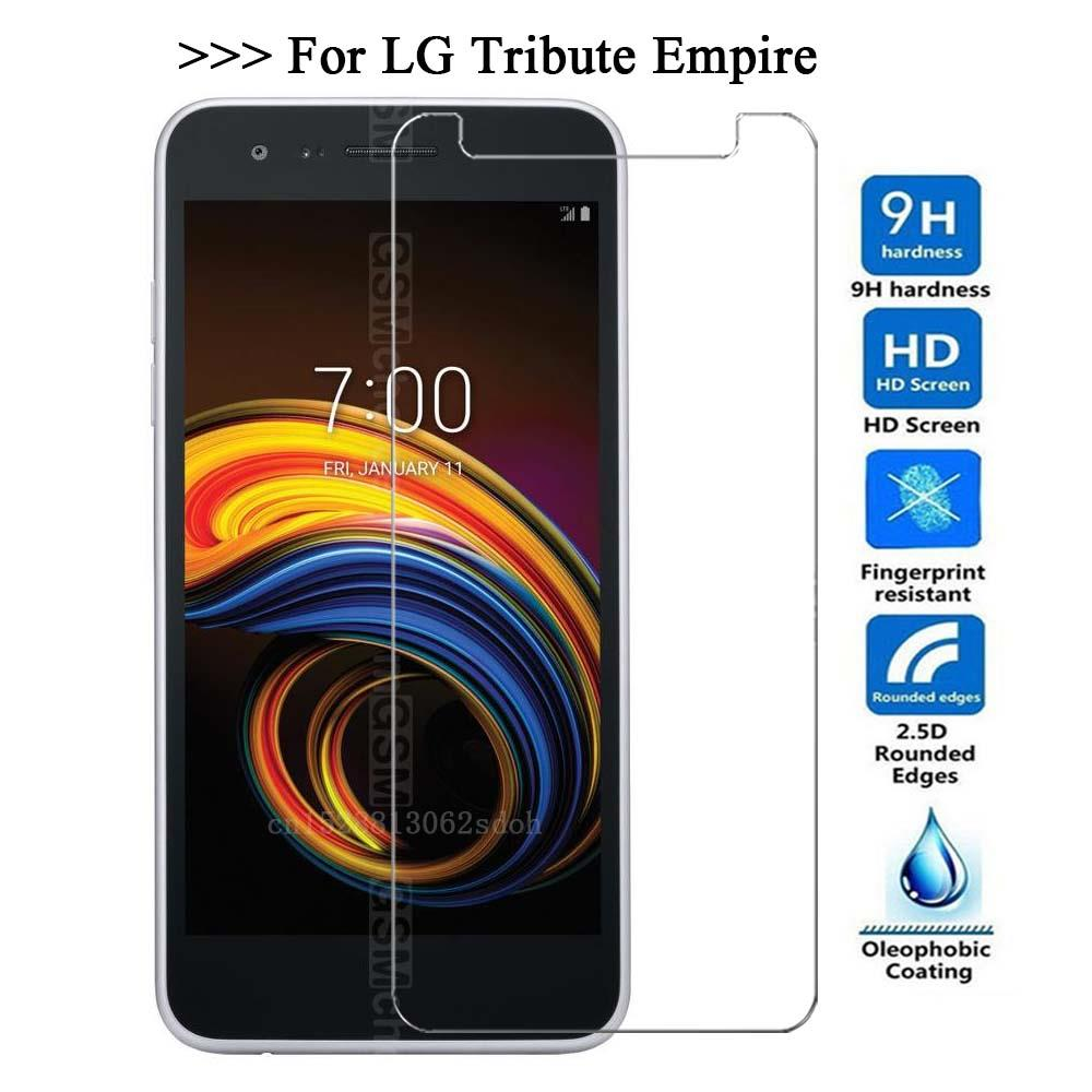 Tempered Glass For LG Tribute Empire Glass Screen Protector 2.5D 9H Premium Tempered Glass For LG Tribute Empire Protective Film